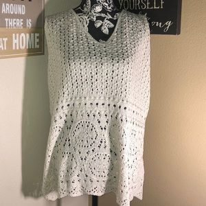 Lane Bryant knitted blouse